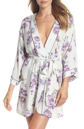 زفاف - Nordstrom Lingerie Sweet Dreams Short Robe