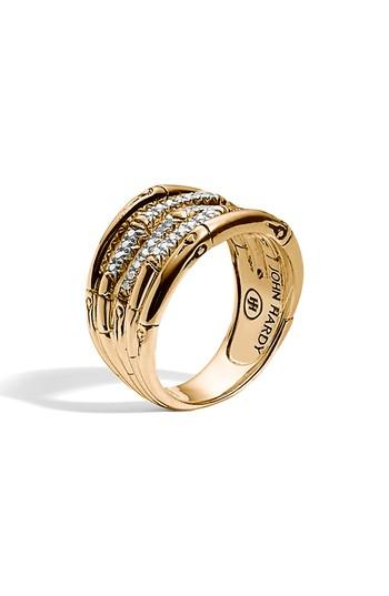 Mariage - John Hardy Wide Bamboo Ring