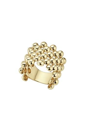 Mariage - LAGOS Caviar Gold Wide Band Ring