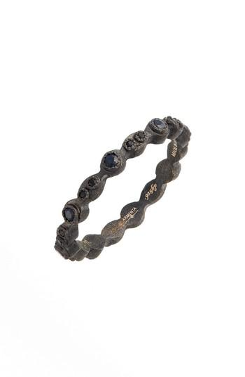 Boda - Armenta Old World Black Stackable Ring