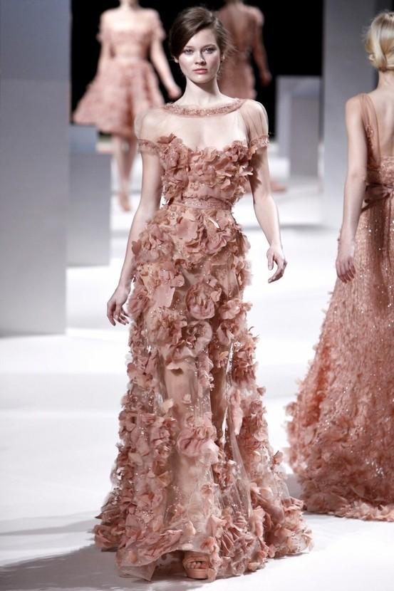 Elie saab chic elie saab design evening dress 789668 for Elie saab blush wedding dress