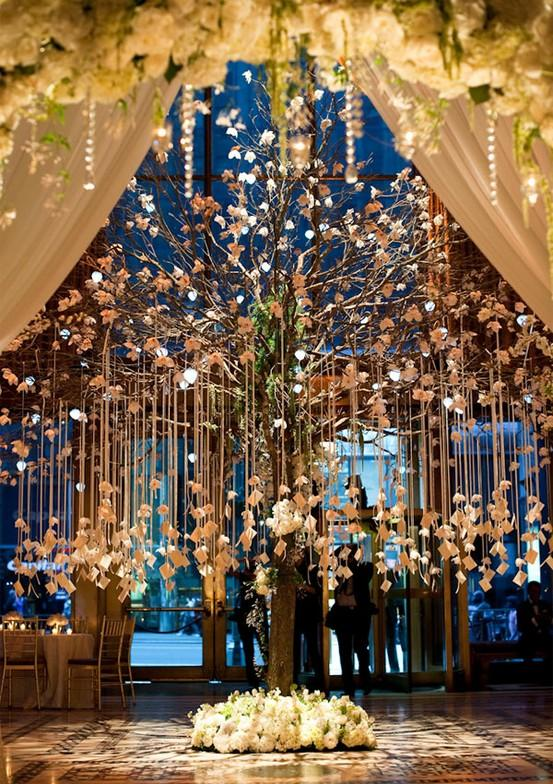 Wedding wedding guest tree ♥ unique creative wedding ideas