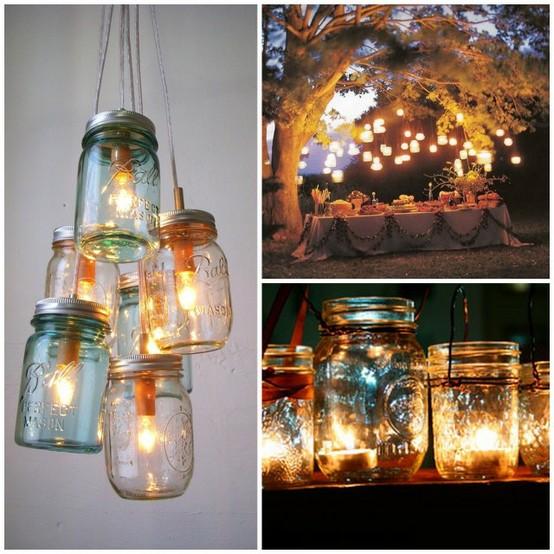 Southern Wedding Ideas Using Mason Jars: Wedding Idea #791326