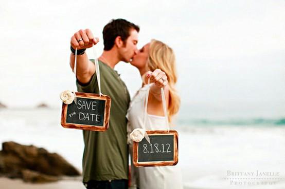 Wedding - Wedding Save The Dates Photography Ideas