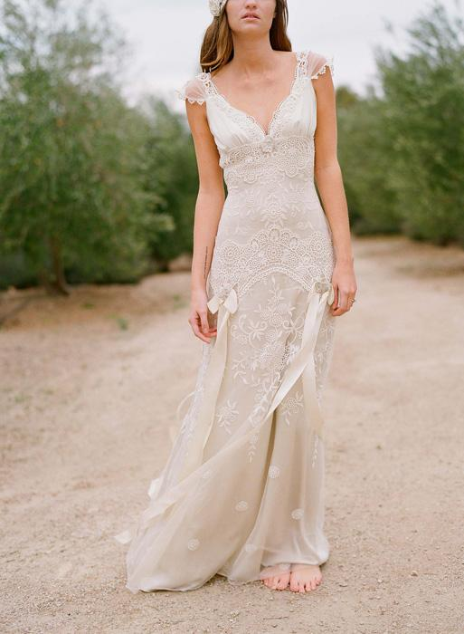Wedding - Claire Pettibone 2012 Bridal Collection