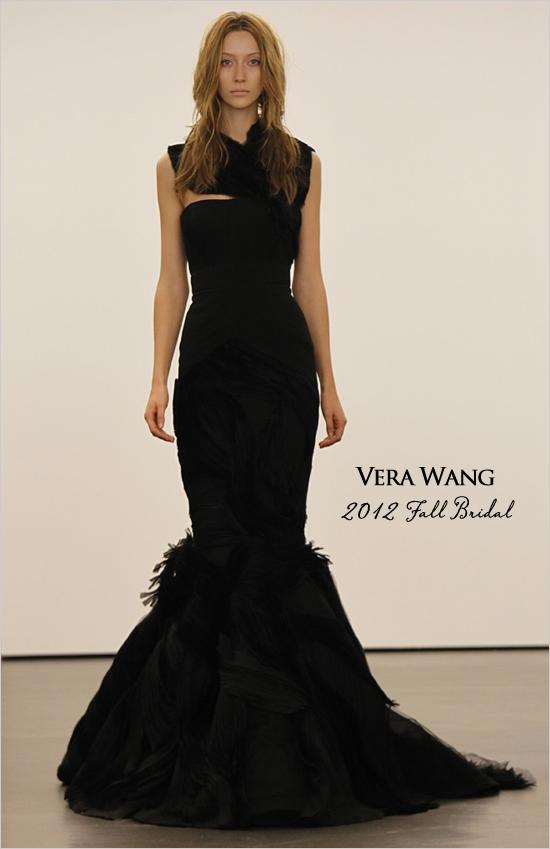 Vera Wang Black Wedding Gowns