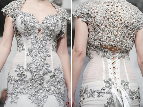 Wedding Gowns With Bling: Pnina Tornai Bridal 2011 #792594