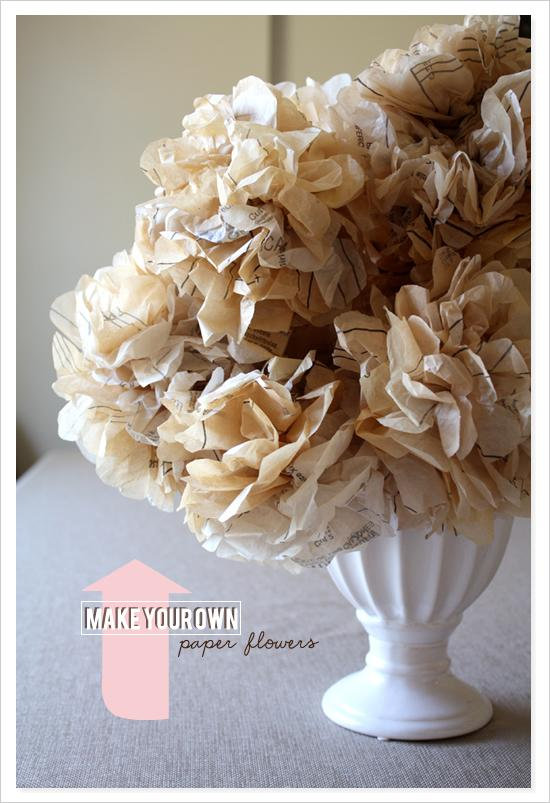 Diy Make Your Own Paper Flowers 792711 Weddbook