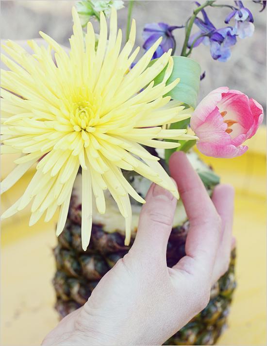 Hochzeit - Diy Fruit Centerpiece