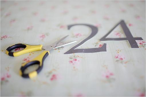 Wedding - Easy Do It Yourself Table Numbers
