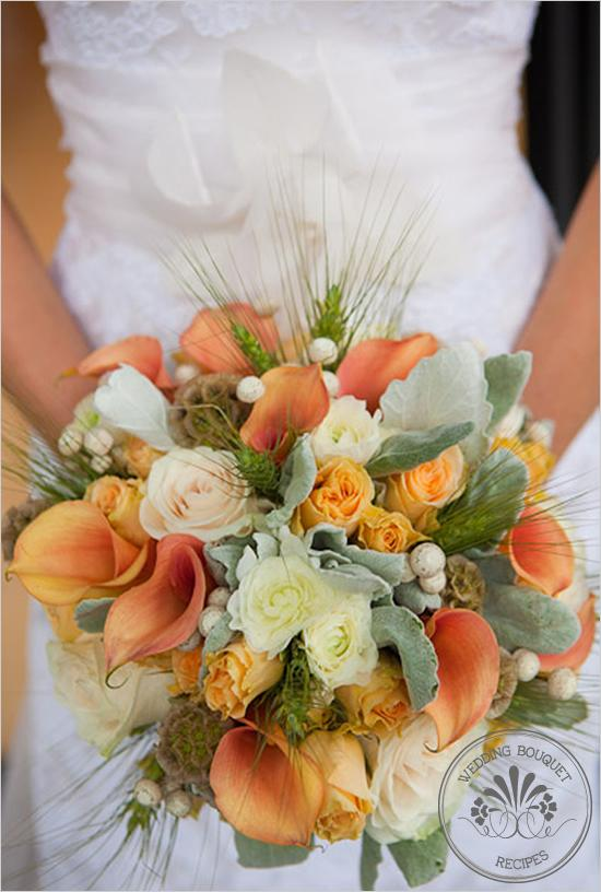 Wedding Bouquet Apricot Wedding Bouquet 793429 Weddbook
