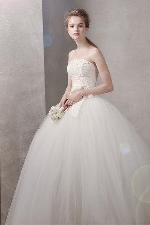 Свадьба - Белый По Vera Wang