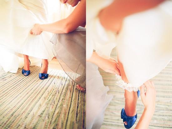 Blaue Hochzeit - Blau Brautschuhe #796573 - Weddbook