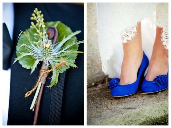 Blaue Hochzeit - Blau Brautschuhe #796574 - Weddbook