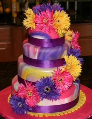 image of Fondant Wedding Cakes