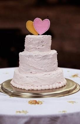 buttercream wedding cakes romantic simply buttercream wedding cake ...