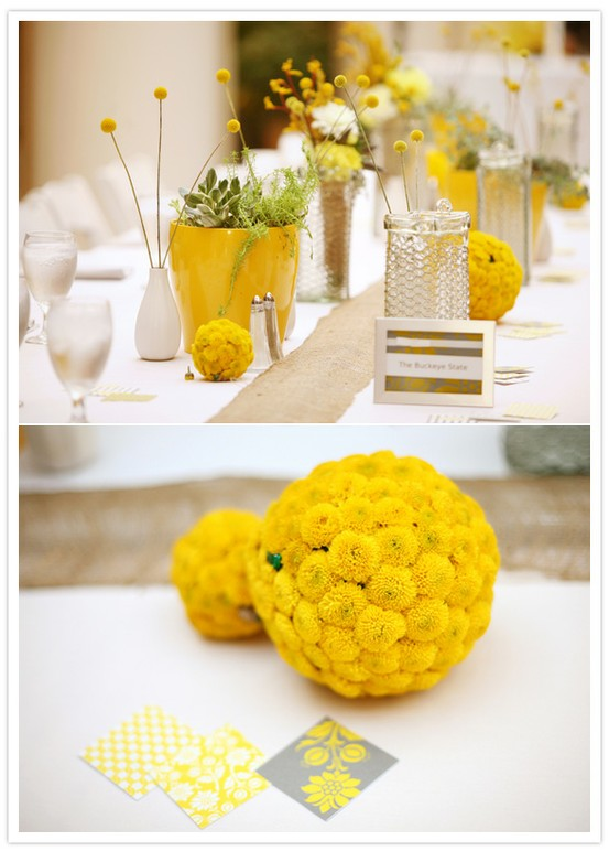 Diy wedding decor 797071 weddbook for Sideboard gelb