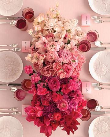 Wedding - Pink Wedding Centerpieces