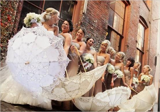 Vintage Wedding Dresses Reno: Parasols In Weddings #797626