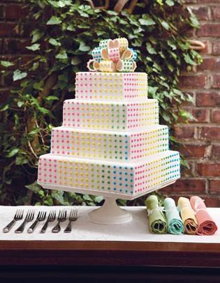 زفاف - كعك الزفاف الخاص فندان كعكة الزفاف ♥ زينة