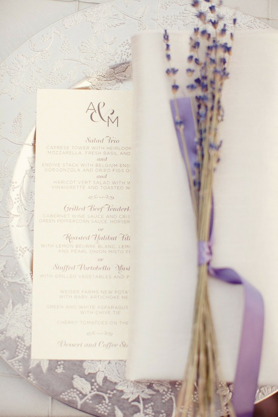 Wedding - Lavender Wedding Color Palette