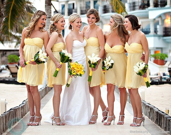 Wedding - Mellow Yellow Wedding Color Palettes