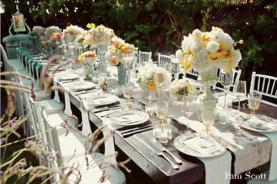 Spring wedding spring weddings 799095 weddbook for Wedding reception ideas for spring