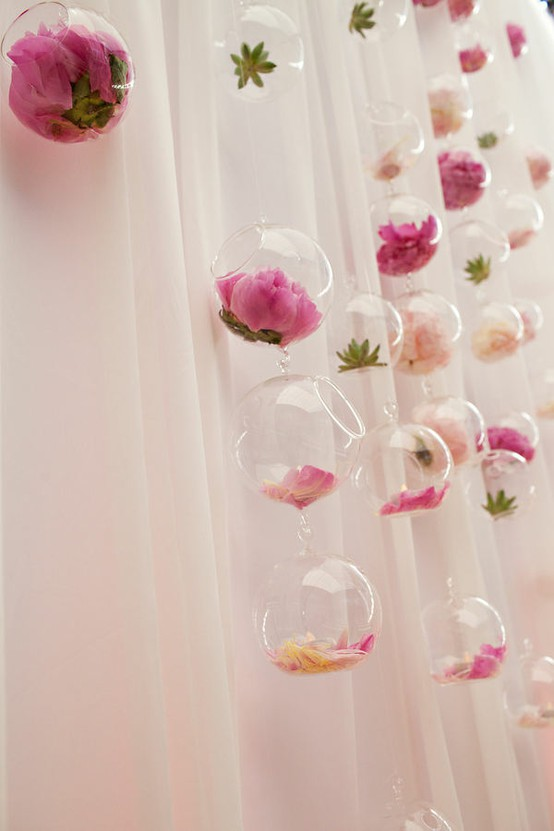 Pink Wedding Creative Wedding Decoration Ideas 799641 Weddbook