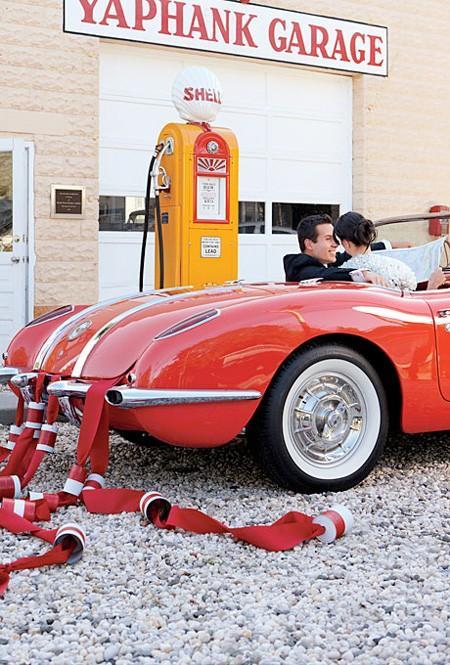 Свадьба - Свадебные Идеи украшения автомобиля