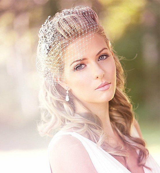 Great Wedding Hair with Birdcage Veil 553 x 601 · 67 kB · jpeg