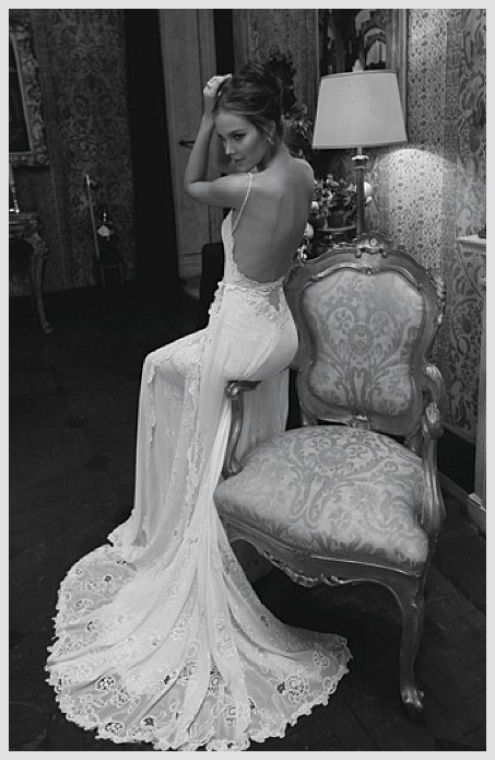 Inbal Dror Haute Couture 2012 Collection Sexy Backless Wedding