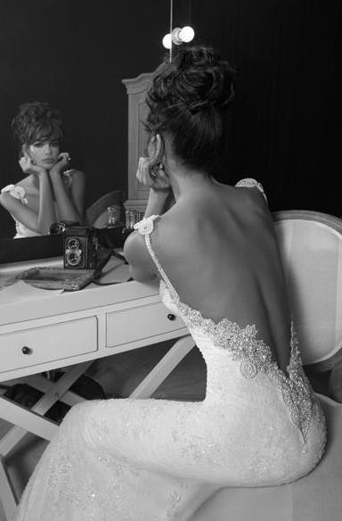Wedding - Chic Special Design Wedding Dress ♥ Sexy Lace Wedding Dress