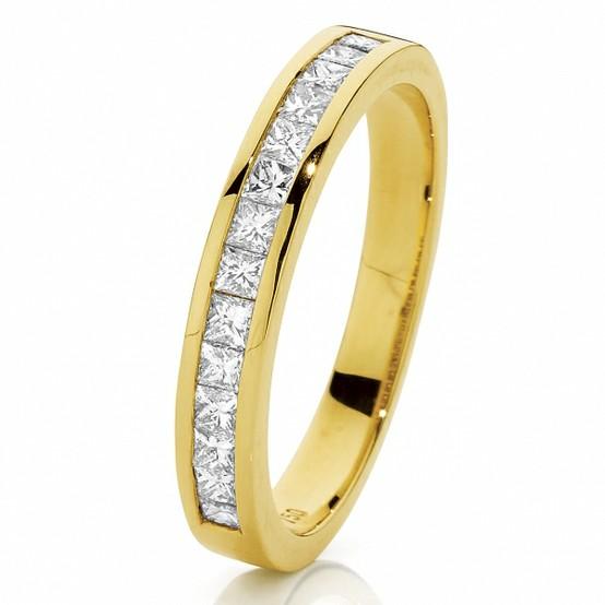 Mariage - Anneau Luxry Diamond Wedding ♥ bague parfaite éternité à diamants,