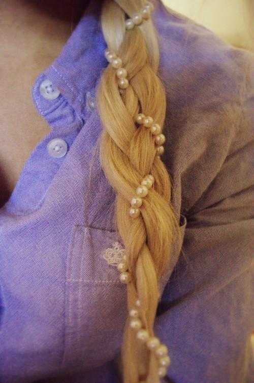 Wedding - Pearly Braid Wedding Hairstyles