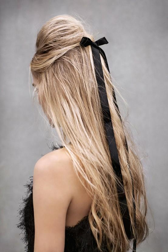 Long Hair Half Up Half Down Hairstyles