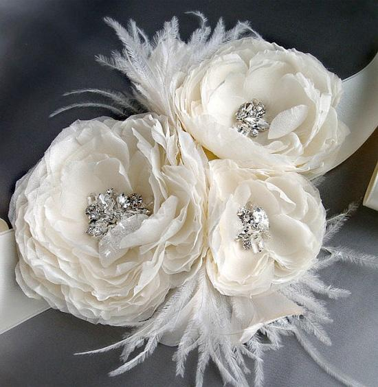 image of Vintage Bridal Accessories  ♥ Gorgeous Wedding Bridal Sash