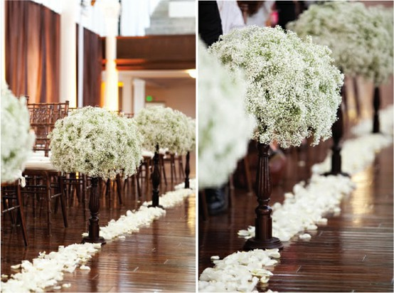 Ceremony wedding aisle decor ideas 804758 weddbook for Aisle wedding decoration ideas
