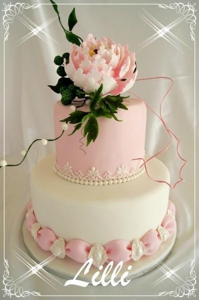 زفاف - كعك الزفاف الخاص ♥ تصميم كعكة الزفاف