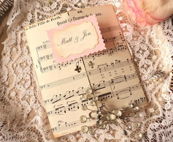 Wedding Invitation Music as awesome invitations ideas