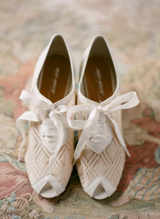 Hochzeit - Brautschuhe - Satin Heels