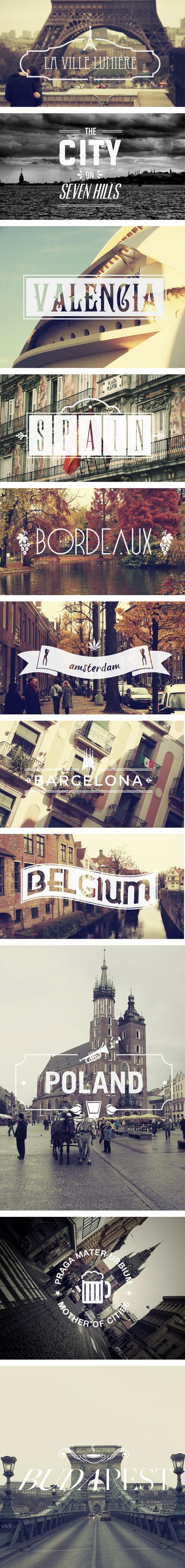 Hochzeit - Europäische Städte für den Honeymoon ♥ Best Honeymoon Destination