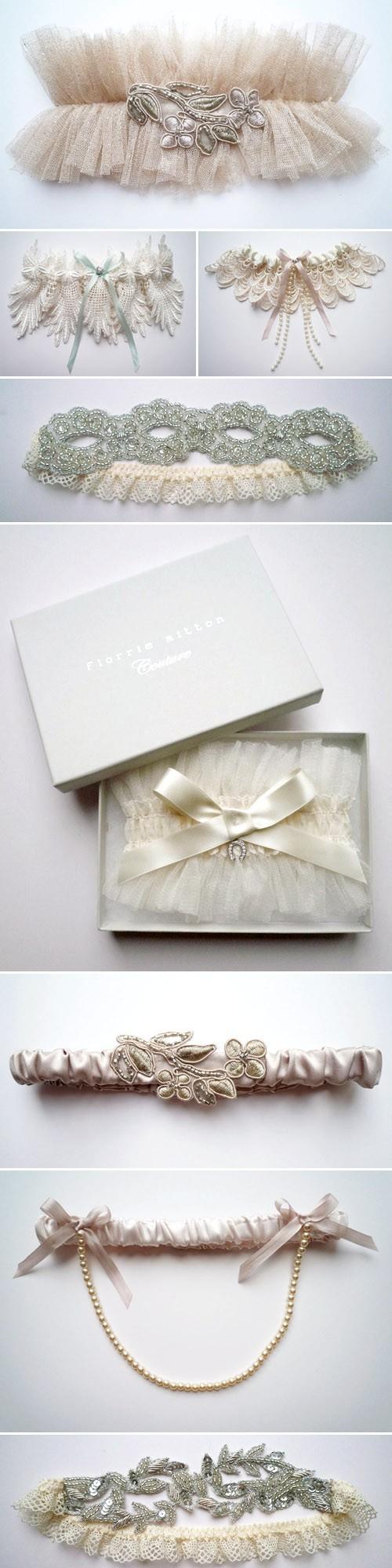 Hochzeit - Sexy Hochzeit Strumpfbänder