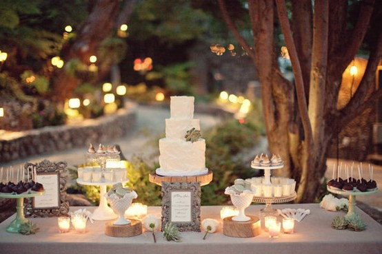 Rustic Wedding Dessert Table Ideas ♥ Rustic Wedding Ideas #830943