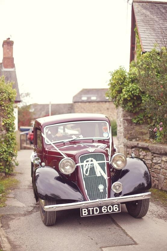 Mariage - Voitures anciennes