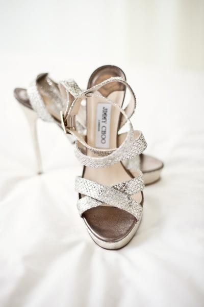 Hochzeit - Sparkly Brautschuhe