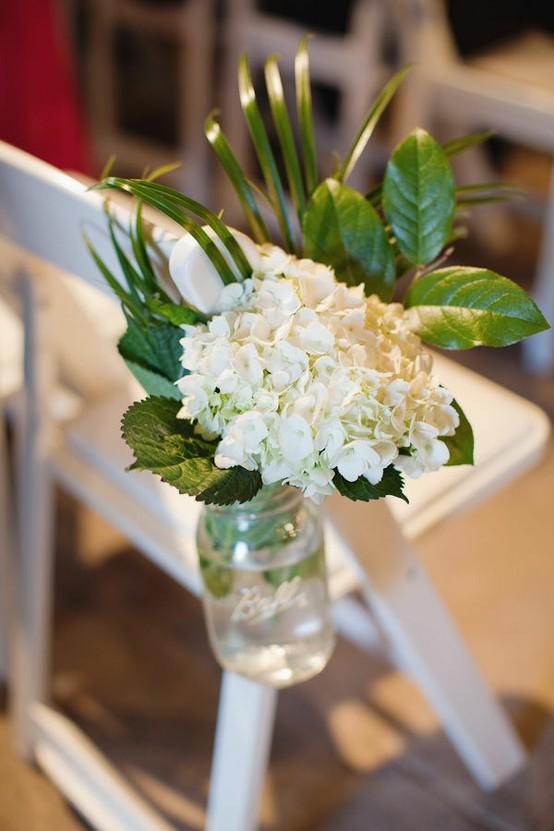 Summer wedding white wedding aisle decor ideas 893753 weddbook white wedding aisle decor ideas junglespirit Image collections
