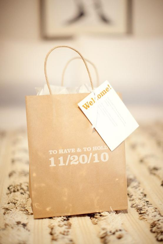 Wedding Gift Bag Ideas Washington Dc : Wedding - Wedding Details