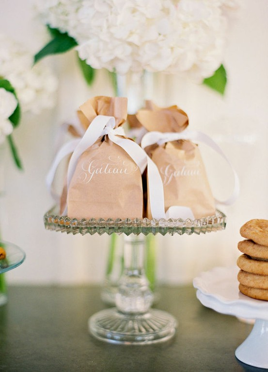Ideas For Wedding Favor Bags : WeddingDIY Vintage Wedding Favors ? Handmade Vintage Gift Bag