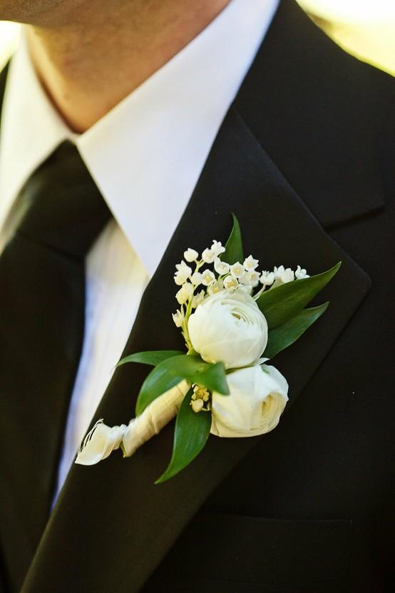 Свадьба - Бутоньерки для мальчиков