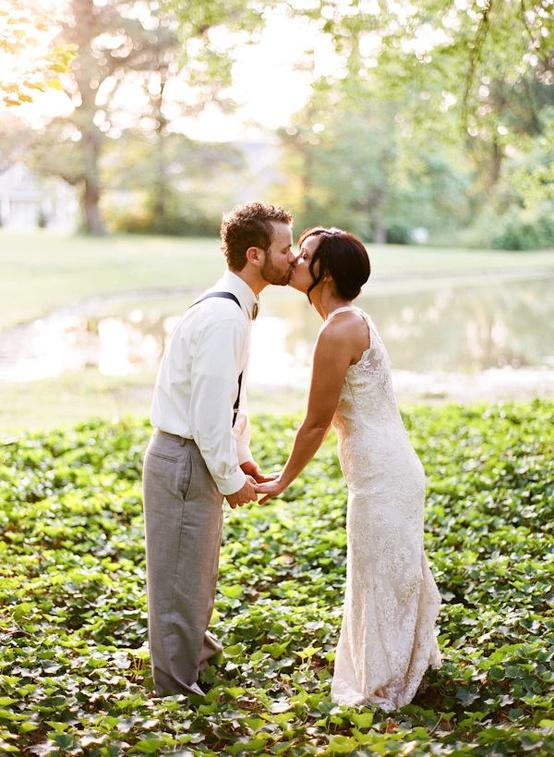 image of Wedding Kiss Photography ♥ Outdoor Wedding Photography